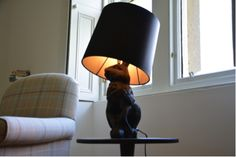 Bunny lamp' by uber cool design house Moooi. -
