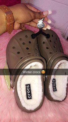 27597b894efc See more. Not a fan of crocs but these look comfy Winter Crocs