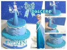 Un dulcero DIY hecho con material reciclado ¡y de Frozen!