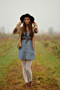 dress with sweater tights