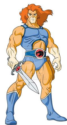 Classic Lion-O from Thundercats Thundercats Costume, Thundercats Characters, Cartoon Characters, He Man Desenho, D Mark, Old School Cartoons, 80 Cartoons, Fantasy Characters, Childhood