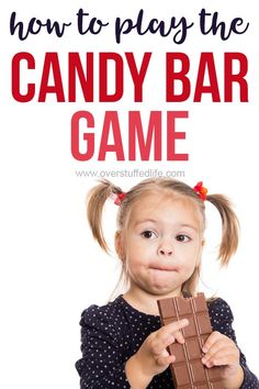 The Candy Bar Game—a Fun Party Game for All Ages! - Overstuffed Life Birthday Games For Adults, Birthday Party For Teens, Birthday Party Games, Sleepover Party, Spa Party, 17th Birthday, Carnival Birthday, Teen Birthday, Pajama Party