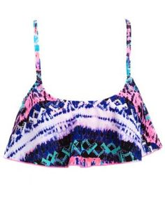 tie dye hanky bikini top #festival #style  Get 10% off your purchase at http://www.studentrate.com/itp/get-itp-student-deals/Charlotte-Russe-10percent-Student-Discount--/0