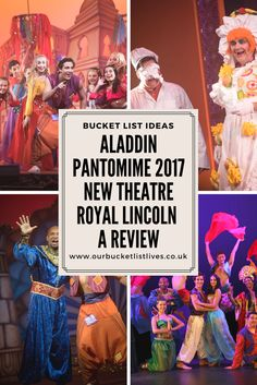 Aladdin pantomime 2017 at the New Theatre royal in Lincoln. Panto review Lincolnshire #panto #pantomime #theatrereview #theatre #kidfriendly