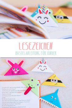 Make bookmarks - Super sweet for crafting. Even a small child can use the simple folding technique to book - Diy Crafts To Do, Diy Gifts For Kids, Diy For Kids, Crafts For Kids, Jar Crafts, Origami Diy, Wood Planter Box, Bookmarks, Homemade