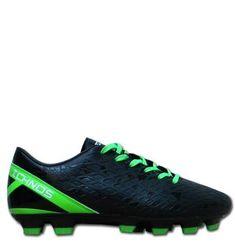 Ichnos Labrys Black Lime FG adult football boots