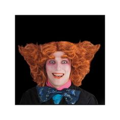 Cette perruque de chapelier fou, personnage emblématique de Alice au pays des merveilles, et repris depuis peu par le cinéma est de couleur orange. Ce modèle sera parfait pour finaliser votre déguisement de Chapelier Fou, n'hésitez pas à porter des lentil
