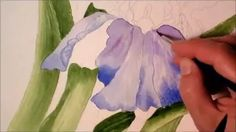 painting white with watercolours - YouTube