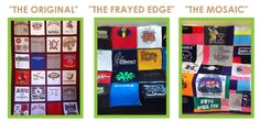 T-Shirt Quilts for Sale. Custom Memory Blankets. Buy Online.