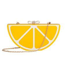Zarapack Women's Fruit Shape Perspex Box Clutch Evening Handbag (Lemon) Zarapack http://www.amazon.com/dp/B00RWWF0DQ/ref=cm_sw_r_pi_dp_lB3Avb10BCQ7C