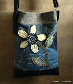 Crossbody Hobo Bag by WhimsyEyeDesigns on Etsy
