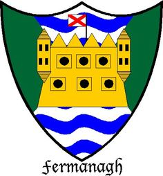 The (modern-day) Coat of Arms for County Fermanagh, Northern Ireland