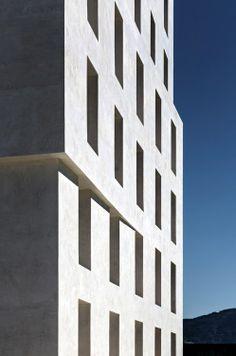 Baumschlager Eberle - The Rossi-esque AD Vermietung offices, Lustenau
