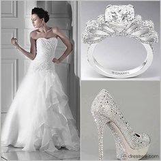Spectacular A-line Sweetheart Floor-Length Chapel Appliques Luba's Wedding Dress