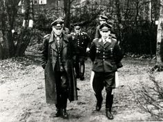 Generaloberst Georg Lindemann with his staff at Silkeborg Bad, he was the last Wehrmachtsbefehlshaber in Denmark, Feb. 1945-Jun.1945, he was aquitted for crimes in Denmark. Before he came to Denmark he had served on the Eastern front and on the way to his new command he set a Danish farmhouse ablaze because he believed he had been sabotaged. this was however the only time we glimpsed his Ostfront-mentality