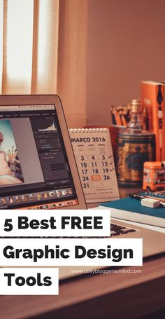 Graphic design is such an important part in the blog/web industry. Here are 5 incredible and completely free tools that will help you get the job done!
