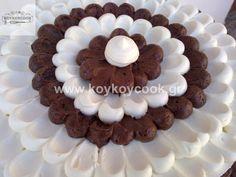 1701201421380 (2) Chocolate And Vanilla Cake, Desserts, Food, Tailgate Desserts, Deserts, Essen, Postres, Meals, Dessert