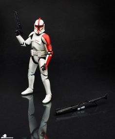 "Star Wars Black Series 6"" Clone Captain"