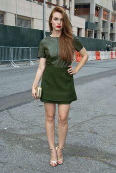Holland Roden//Rachel Zoe 2013 Fashion Show in NY