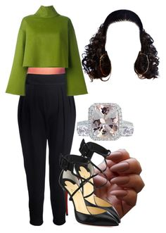 """""""10-27-16"""" by janay1206 ❤ liked on Polyvore featuring Christian Louboutin, Givenchy, Bally and Jewels by Viggi"""