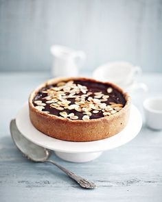 Chocolate and almond cake, Ira Leoni / Photographer