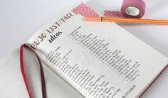 Hier findest Du Inspiration und Anleitung rund um Hand Lettering und das Bullet Journal!