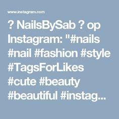 "🎀 NailsBySab 🎀 op Instagram: ""#nails #nail #fashion #style #TagsForLikes #cute #beauty #beautiful #instagood #pretty #girl #girls #stylish #sparkles #styles #gliter #nailart #art #opi #photooftheday #essie #unhas #preto #branco #rosa #love #shiny #polish #nailpolish #nailswag"""