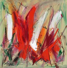 Light My Fire: Lynne Taetzsch: Acrylic Painting   Artful Home