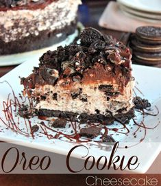 Non-Bake Oreo Cheesecake  Ingredients (makes one 6 inch loose-base round tin)  Biscuit Base: 50g Oreo cookies 25g melted butter  Cream Cheese Filling: 125g cream cheese 15g icing sugar 30ml milk 1/2 tbsp gelatin powder + 35g water 130ml whipping cream - whipped till medium peak (dairy or non-dairy)  1/2 tbsp maple syrup (or honey) 1