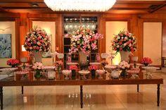 decoracao rosa casamento - Google Search