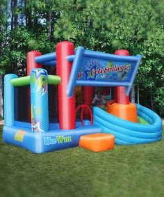 Another great find on #zulily! Celebration Slide Bounce House #zulilyfinds