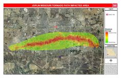 joplin tornado | joplin tornado path click for a larger image