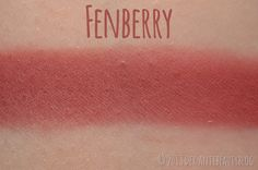 Sleek Makeup Blush - Fenberry (Berry Collection) Swatch
