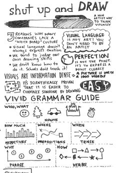 Some great handwritten infograhics here. South by Southwest: Sketchnotes and Observations | Bit by Bit