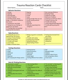 Trauma Therapy, Behavioral Therapy, Therapy Tools, Mental Health Counseling, Kids Mental Health, Therapy Worksheets, Therapy Activities, Counseling Activities, School Counseling