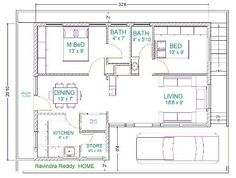bedroom house plans  Plan plan and House plans on Pinterest