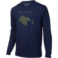 Patagonia Live Simply Tent T-Shirt - Long-Sleeve - Men's | Backcountry.com