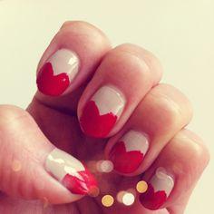 #Valentine's Day #Heart #Nails  www.pslilyboutique.com