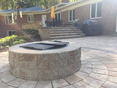 We love our Nicolock products for any project, especially this home's outdoor space in Parkton, Md.   Our friends at Cedar Ridge Landscaping used Nicolock's Colonial Walls, Alpine and Stone Ridge pavers, and Fire Pit, all in the Travertina and Westchester blend colors for this beautiful backyard.
