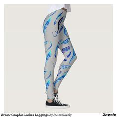 Arrow Graphic Ladies Leggings