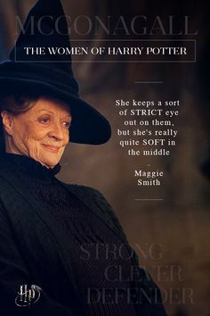 Image discovered by Find images and videos about harry potter, maggie smith and professor mcgonagall on We Heart It - the app to get lost in what you love. Harry Potter Girl, Harry Potter Cast, Harry Potter Quotes, Harry Potter Characters, Harry Potter Fandom, Severus Rogue, Harry Potter Pictures, Maggie Smith, Harry Potter Wallpaper