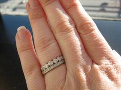 Remake Great Grandma's pin into a ring.