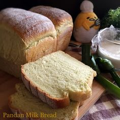 I love the natural sweet scent of pandan leaves  It is one of my most frequent-use ingredients to bake my sweet breads. The main ...