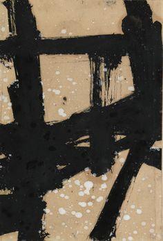 'Jackson' (1954) by Franz Kline. Franz Kline Paintings, plastic arts, visual…