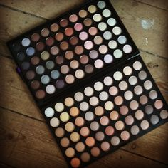 """My new eyeshadow 120 colours for £5.99 not bad for the price. #eyeshadow  #eye #shadow #makeup"""