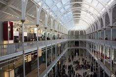 """National Museum of Scotland, Edinburgh, Scotland    (More about """"52 Museums in 52 Weeks""""at http://blog.jennifuchs.com/2012/01/04/52-museums-in-52-weeks-part-1/)"""