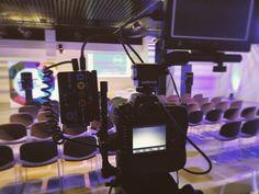 Installation terminée et on est tout prêt ! #seminar #event #production #43media #lovewhatyoudo