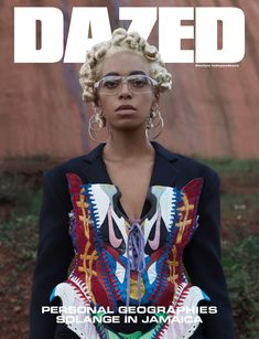 Solange Knowles on the Spring/Summer 2018 Cover of Dazed Magazine. Fashion Fail, 90s Fashion, Spring Fashion, High Fashion, Fashion Show, Fashion Design, Modern Fashion, Fashion Outfits, V Magazine