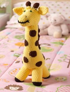 Crochet Love My Giraffe Toy – Free Pattern - 32 Free Crochet Giraffe Amigurumi Patterns - DIY & Crafts