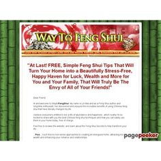 Feng Shui Secrets That Will Change Your life! Learn how to live the life you want... #BikeRiding #EatHealthyQuotes #Exercise #GetOutAndRun #Health #HealthyMeals #HealthyRecipes #LiveLonger #LoseWeight #LoseWeightInAWeek #WeightLoss http://ift.tt/2sGFqIe